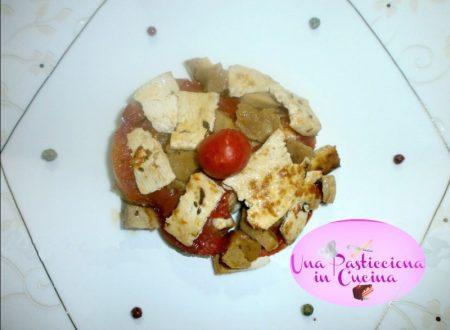 Tofu al Forno con Seitan e Aromi Ricetta