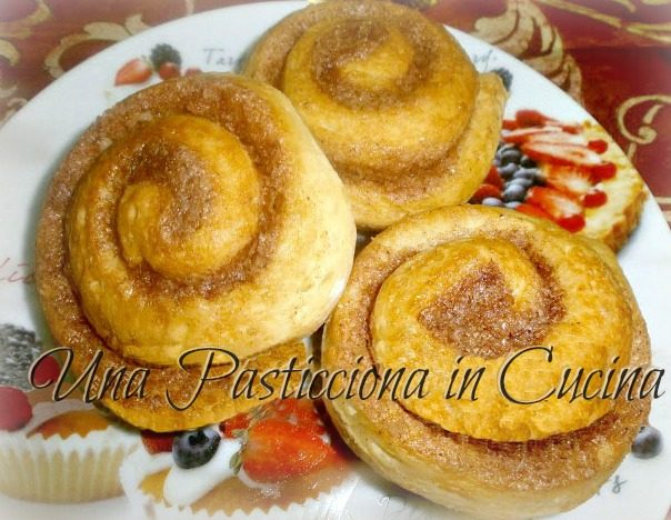 Cinnamon Rolls Ricetta (cucina americana)