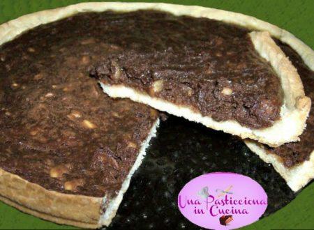 Crostata Nutella e Mascarpone con Nocciole
