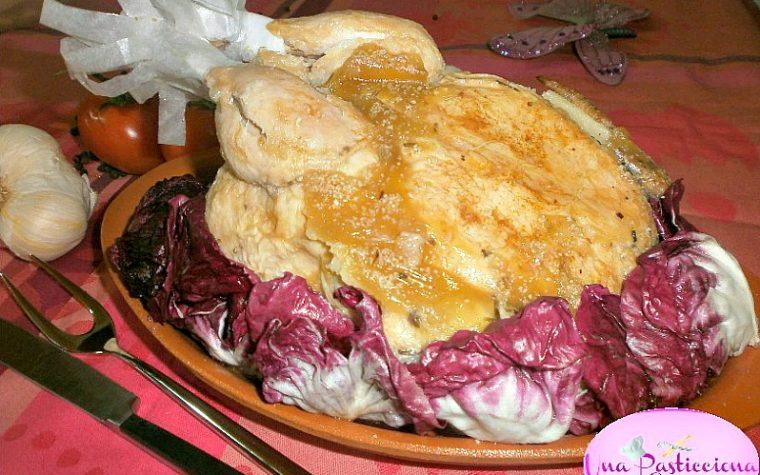 Pollo Ripieno al Forno o Cappone Ricetta