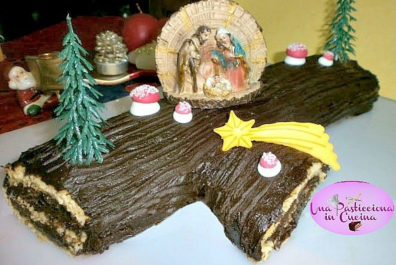 Tronchetto di Natale o Bûche de Noël Ricetta