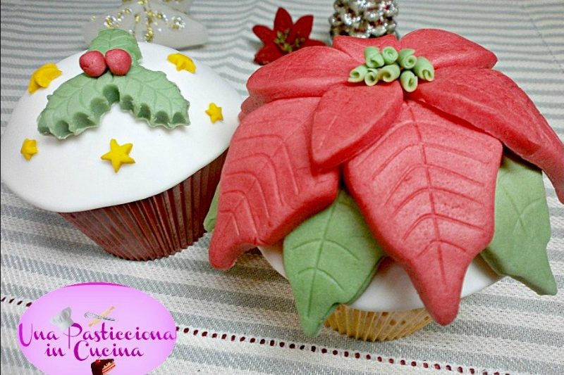 Cupcakes di Natale Limone e Yogurt Ricetta