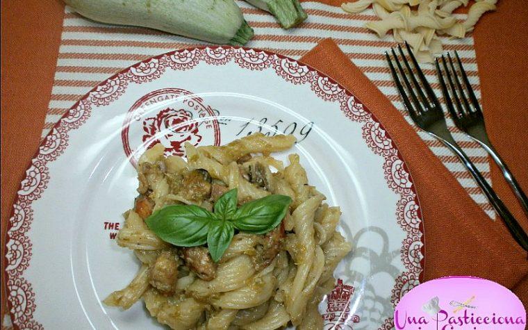 Pasta Gamberi e Zucchine con Frutti di Mare Ricetta