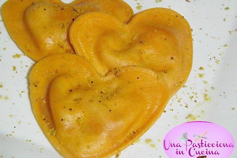 Ravioli allo Speck Ricetta San Valentino
