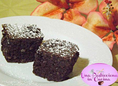 Brownies alla Nutella e Mandorle