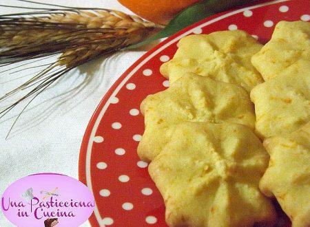Biscotti all Arancia senza Uova