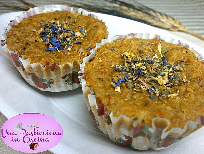 muffin salati vegetariani ricetta