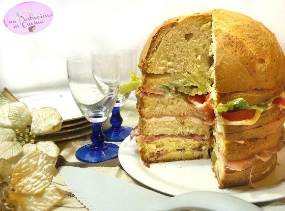 Panettone Gastronomico Ricetta