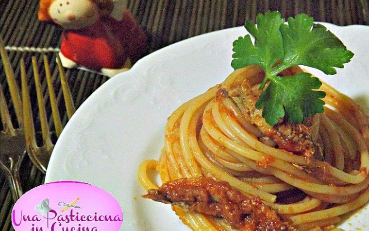 Pasta con le Alici Ricetta