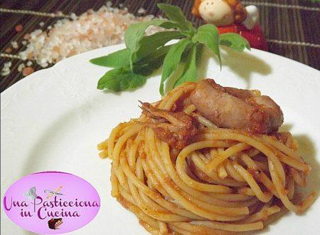 Pasta con Calamari Ricetta