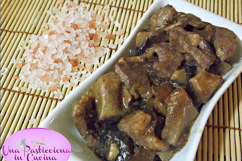 Spezzatino di Carne con Funghi Ricetta