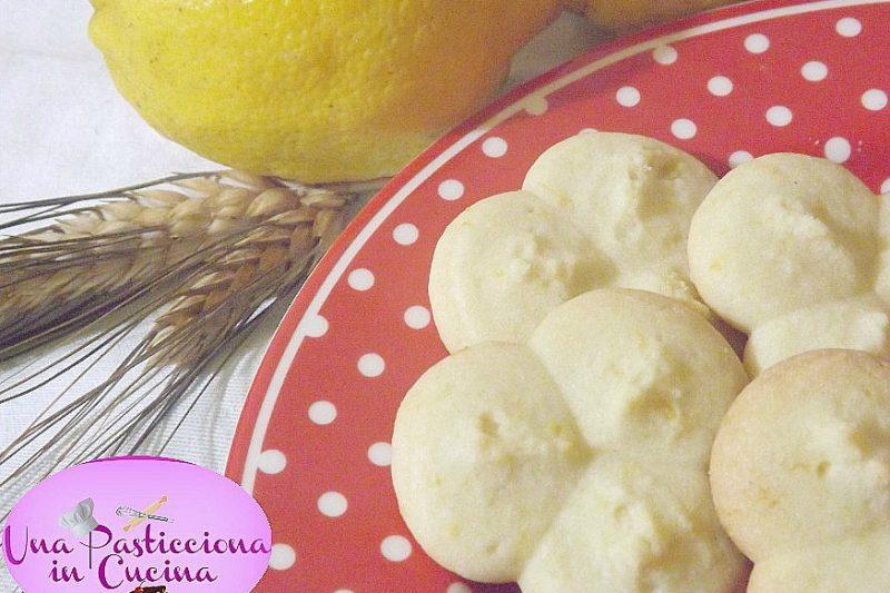 Biscotti al Limone senza Uova