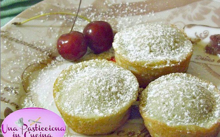 Muffin alle Ciliegie Ricetta