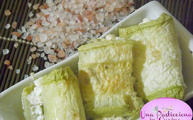 Involtini di Zucchine al Forno Light Ricetta