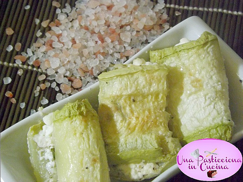 involtini di zucchine al forno light