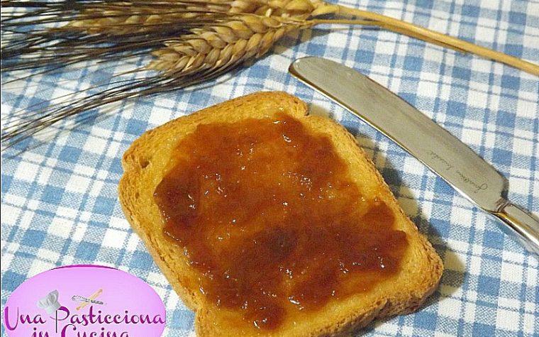 Marmellata di Pesche senza Zucchero
