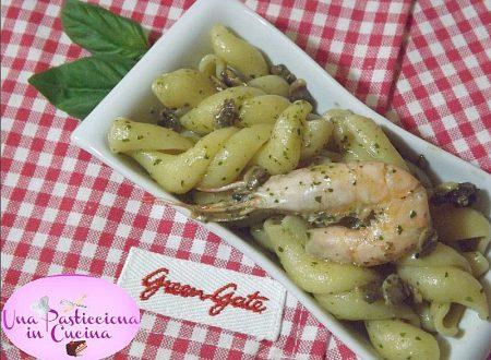 Pasta Pesto Vongole e Gamberetti Ricetta