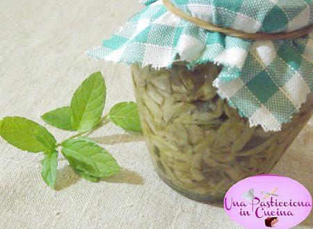 Zucchine Sott Olio Ricetta