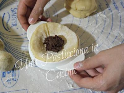 tortelli dolci con ripieno di castagne