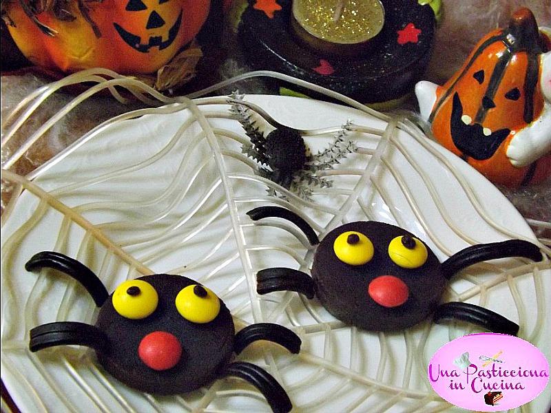 ragni di halloween dolci ricetta