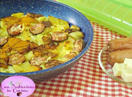 Frittata di Patate e Wurstel Ricetta