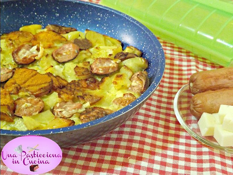 Frittata di Patate e Wurstel
