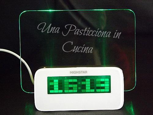Sveglia con Promemoria Luminoso Poinx