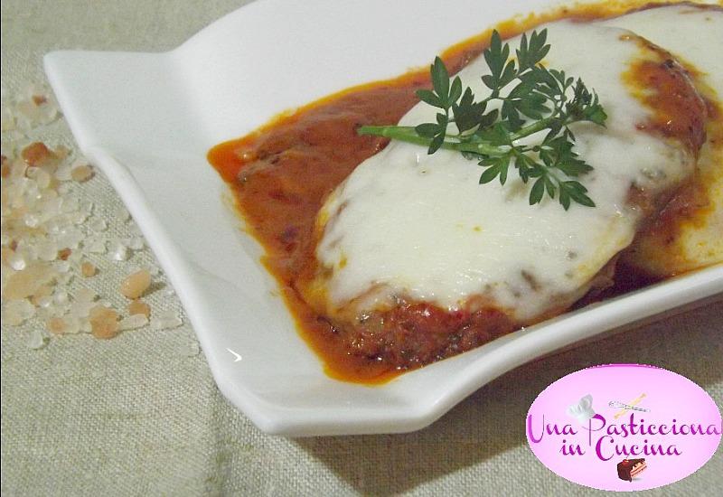 Hamburger alla Pizzaiola con Caciotta
