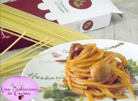 Pasta con Funghi Porcini, Salsiccia e Nduja
