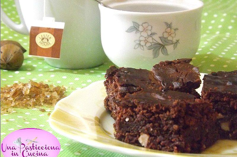 Brownies alle Noci Pecan Ricetta