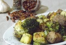Broccoli e Patate con Polpette