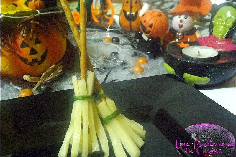 Scope di Strega Ricetta per Halloween