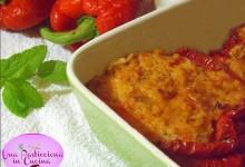 Peperoni Ripieni di Riso e Salame