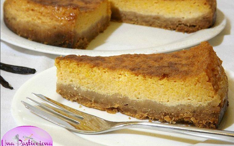 Cheesecake alla Zucca e Ricotta