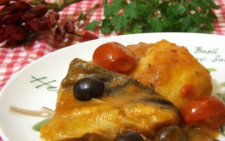 Baccalà alla Calabrese con Patate e Olive Nere