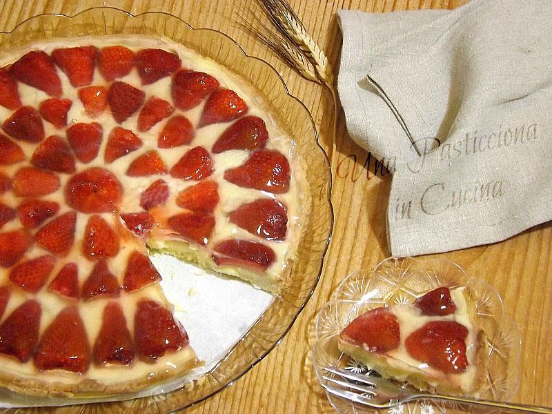 Crostata di Fragole e Mandorle