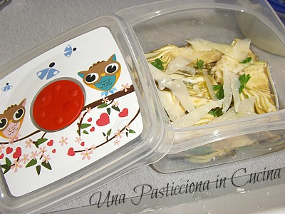 carpaccio di carciofi ricetta