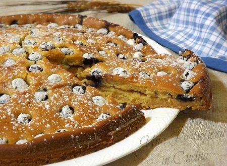 Torta Ricotta e Mirtilli Ricetta