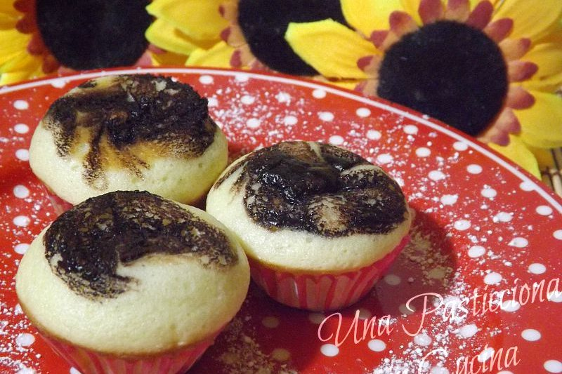 Muffin Cocco e Nutella Ricetta