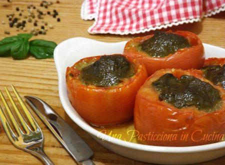 Pomodori Ripieni al Pesto Ricetta