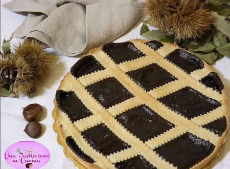 Crostata con Marmellata di Castagne e Cacao