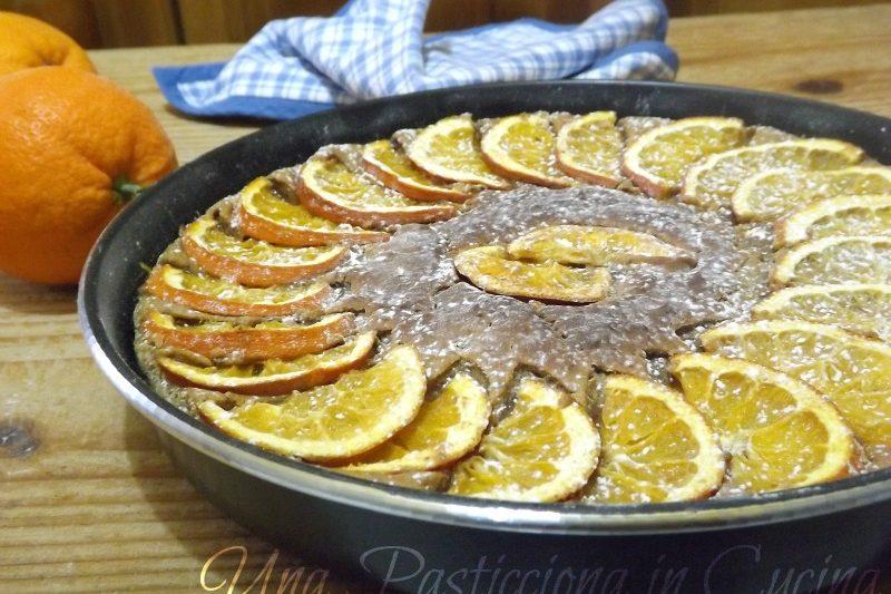 Torta all'Arancia con Panettone o Pandoro -Ricetta di Riciclo
