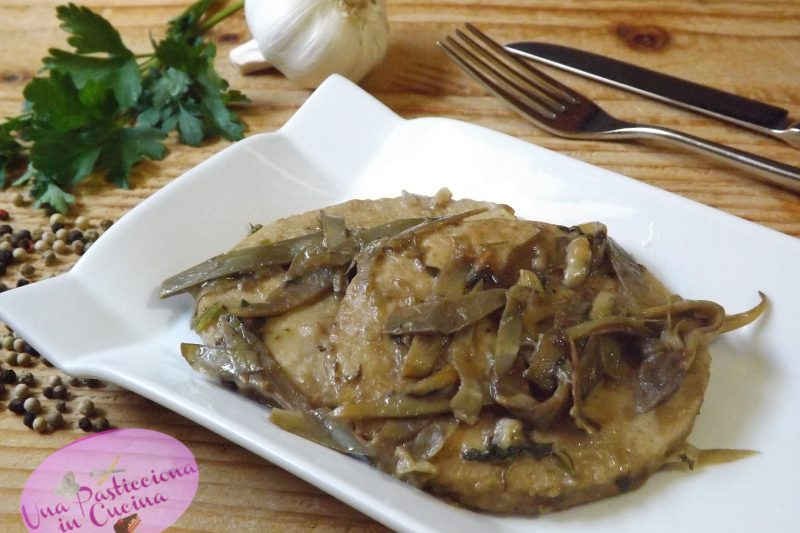 Scaloppine di Pollo con Carciofi