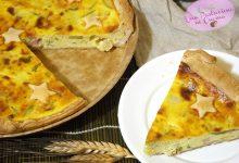 Quiche con Zucchine, Ricotta e Pancetta