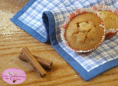 Muffins di Pere e Mandorle senza Glutine e Lattosio