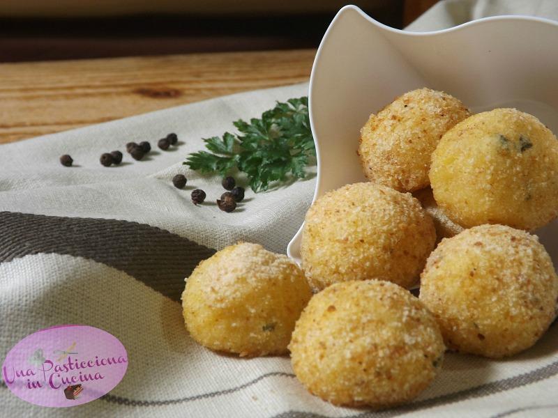 Polpette di Merluzzo e Patate al Forno senza Glutine e Uova