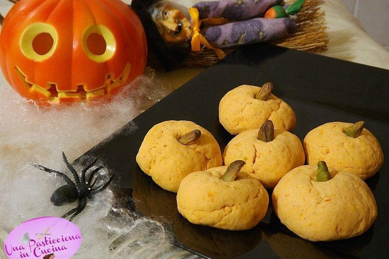 Biscotti di Zucca per Halloween