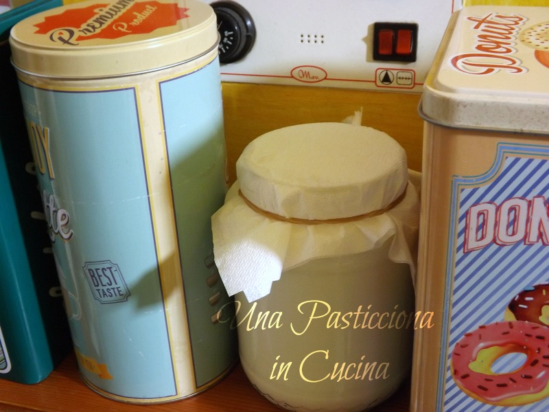 come fare kefir in casa