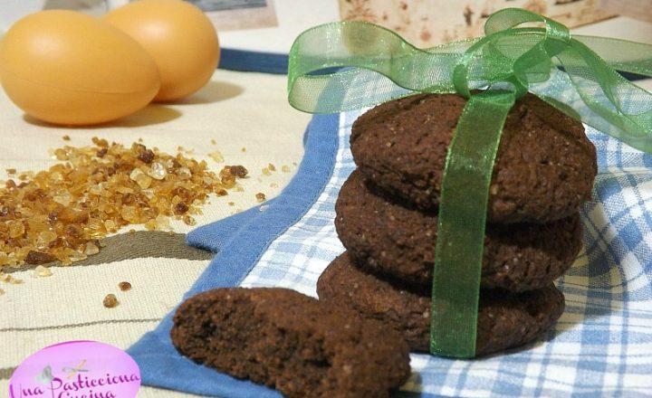 Biscotti con Farina di Castagne e Cacao senza Glutine