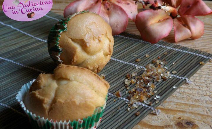 Muffin agli Amaretti senza Glutine e Lattosio